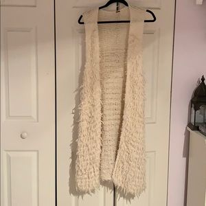 Free people fur vest